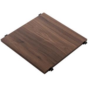 組 - 特力屋萊特 組合式層架 黑框/深木紋色 40x40x128cm