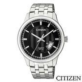 CITIZEN星辰  黑色錶盤石英男仕手錶  BI1050-81E