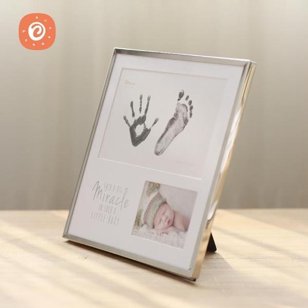 Once Baby新生嬰兒手足印泥寶寶手腳印泥手印泥滿月周歲百天禮品