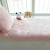 飄窗墊窗台墊定做陽台墊子地毯現代簡約北歐長毛絨地毯白色仿羊毛  ATF  夏季新品