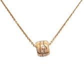GEORG JENSEN 喬治傑生 18K玫瑰金鑲鑽造型項鍊 FUSION Necklace 【BRAND OFF】
