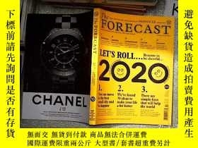 二手書博民逛書店The罕見forecast issue 10 2020 .2020年第10期預測Y203004