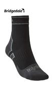 Bridgedale 英國 氣象家 全天候防水輕量襪-踝 黑/中灰 710 090 登山襪 健行襪 防水襪 [易遨遊]