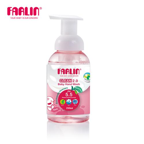【FARLIN】幼兒專用天然洗手乳 250ml-效期至2020.09.28