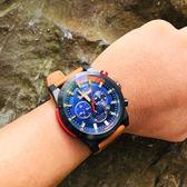 Timberland 天柏嵐 霸氣時尚日曆手錶-藍/48mm TBL.15951JSB/03