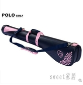 新款 高爾夫槍包 女士球包 繡花款golf球袋 女款球桿包 JY1996【Sweet家居】