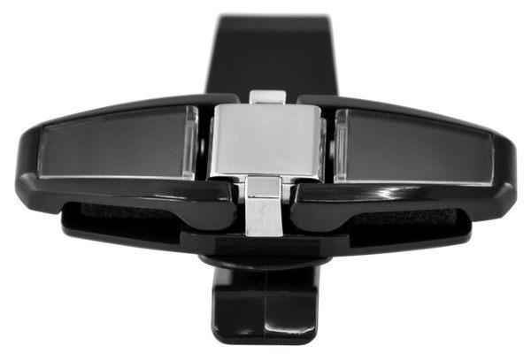 日本SEIKO 90°回轉式多功能遮陽板眼鏡夾,可固定兩組太陽眼鏡