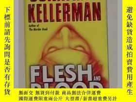 二手書博民逛書店《罕見Flesh and Blood 》Jonathan Kel