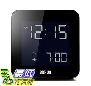 [8美國直購] Braun BNC009BK 時鐘 / 鬧鐘 Digital Quartz Alarm Clock