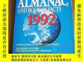 二手書博民逛書店THE罕見WORLD ALMANAC AND BOOK OF F