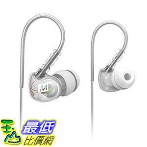 [106 美國直購] MEE audio Sport-Fi M6 Noise Isolating In-Ear Headphones with Memory Wire (Clear)