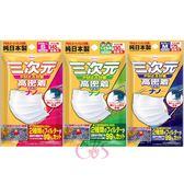 日本 KOWA 三次元 高密度口罩 5枚入 兒童用/S/M 三款供選 ☆艾莉莎ELS☆