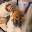 玩偶包 毛絨小熊包包女秋冬2021新款網紅學生日繫可愛玩偶百搭側背斜背包