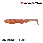漁拓釣具 JACKALL AMMONITE SHAD 4.5吋 [路亞軟餌]