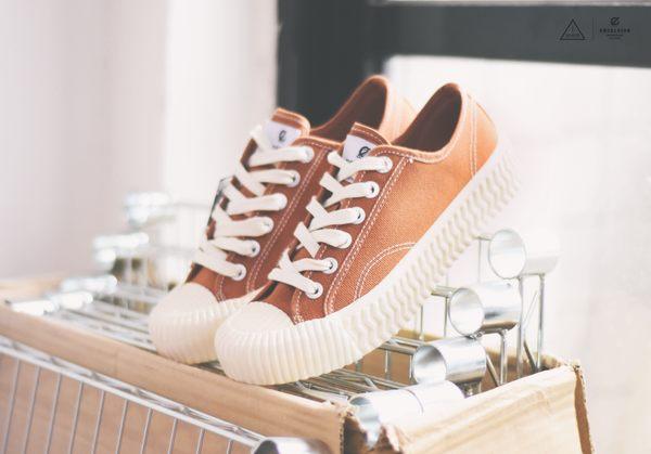ISNEAKERS Excelsior 餅乾鞋 棕色 咖啡 韓國限定 ES_M6017HC_BR