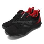 adidas 戶外鞋 Terrex Tracerocker GTX 黑 紅 男鞋 Gore-Tex 登山 防水 運動鞋 【PUMP306】 BC0434