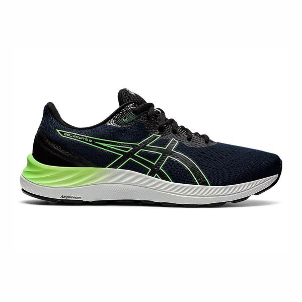 Asics Gel-excite [1011B036-415] 男鞋 慢跑鞋 運動休閒 透氣 緩震 亞瑟士 深藍 螢光綠