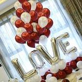 派對用品-網紅婚房字母氣球結婚臥室生日求婚表白裝飾婚禮派對布置婚慶用品 完美情人館