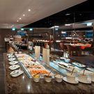 新板希爾頓酒店3F全日餐廳平日自助吃到飽...