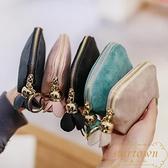 女士小錢包零錢包簡約迷你短款學生韓版可愛時尚硬幣袋【繁星小鎮】