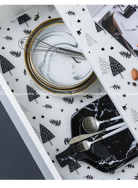 【可裁剪餐櫃墊】北歐風廚房防油污抽屜墊 餐桌墊 餐墊