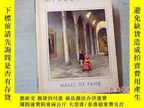 二手書博民逛書店HALLS罕見OF FAME OF MY BOOK HOUSE