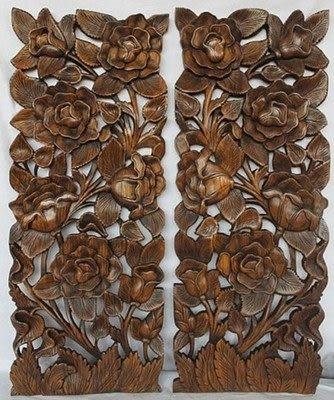 浮雕畫 掛件 玫瑰花
