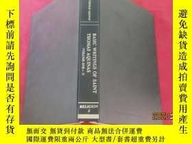 二手書博民逛書店BASIC罕見WRITINGS OF SAINT THOMAS AQUINAS (Volume one-1)Y