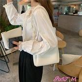 子母包包包2021新款時尚溫柔風韓系百搭側背腋下包子母水桶包 JUST M