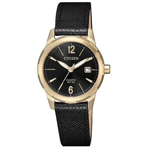 CITIZEN 星辰LADY'S完美女人時尚腕錶/EU6078-09E