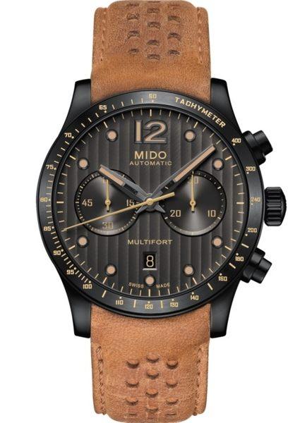 MIDO美度Multifort先鋒系列機械計時碼錶(M0256273606110)44mm