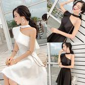 洋裝 韓版 甜美連身裙小禮服