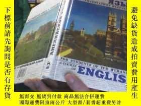 二手書博民逛書店A罕見COURSE OF ENGLISH FOR STUDENT