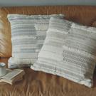 抱枕 New Bohemian 印度手工編織抱枕 - L 75x75cm【4款任選】印度製 靠枕 翔仔居家