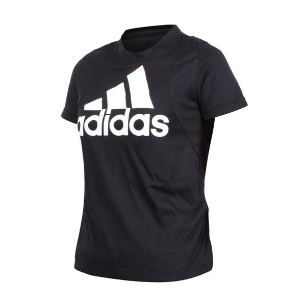 ADIDAS 女短袖圓領T恤(亞規 休閒上衣 慢跑 路跑 愛迪達  ≡排汗專家≡