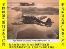 二手書博民逛書店War罕見in the Air: The World War Two Aviation Paintings of
