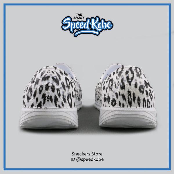 PONY 童鞋 Tropic 水鞋 拖鞋 海灘鞋 防水 洞洞鞋 懶人鞋 白黑豹紋 62K1SA65RW【Speedkobe】