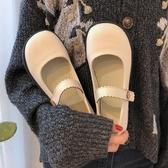 瑪麗珍鞋瑪麗珍小皮鞋女2020早春新款ins日系可愛學生百搭一字扣圓頭單鞋 JUST M