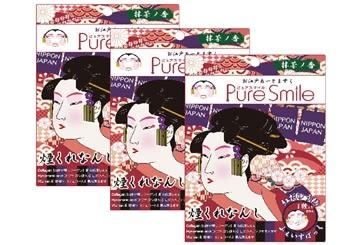 【Pure Smile】 日本江戶面膜 花魁 3枚入