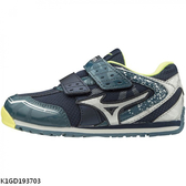 Mizuno Asobi Kids [K1GD193703] 中童鞋 運動 休閒 跑步 發育 保護 美津濃 深藍