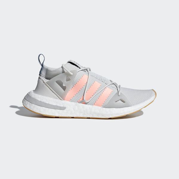 Adidas Originals Arkyn W [B37071] 女鞋 運動 休閒 流行 套襪 舒適 避震 愛迪達 灰