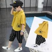 童裝男童男孩夏裝套裝2020新款夏季大兒童帥氣夏天韓版潮衣服10歲 FX5439 【MG大尺碼】