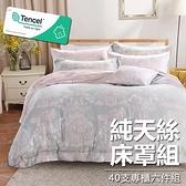 #YN33#奧地利100%TENCEL涼感40支純天絲5尺雙人舖棉床罩兩用被套六件組(限宅配)專櫃等級