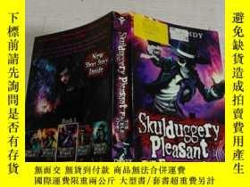 二手書博民逛書店Skulduggery罕見Pleasant THE FACELESS ONES(没有脸的人喜欢骗人)Y2003