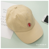 Catworld 百搭數字刺繡棒球帽【18003688】‧F