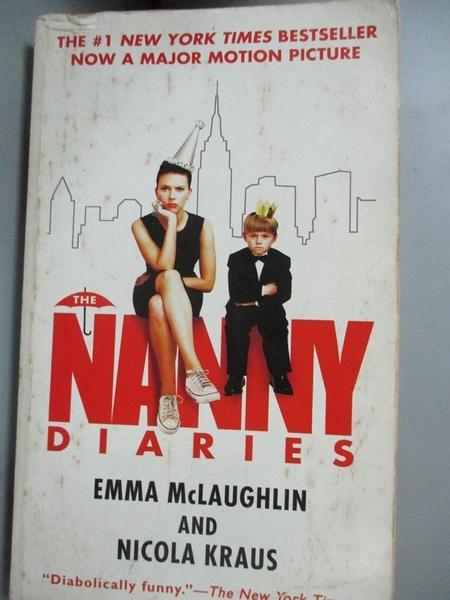 【書寶二手書T1/原文小說_IPZ】The Nanny Diaries_McLaughlin