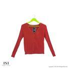 【INI】實穿舒適、美好坑條織紋針織外套...