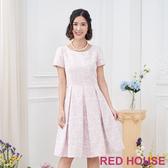 【RED HOUSE 蕾赫斯】緹花洋裝