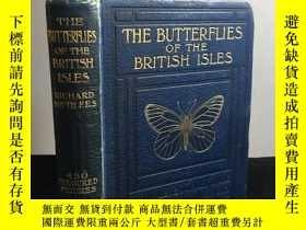 二手書博民逛書店1906年罕見The Butterflies of the Br