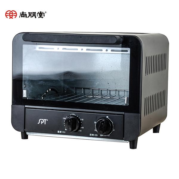 [SUNPENTOWN  尚朋堂]15L雙旋鈕控溫烤箱/黑 SO-815BC